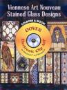 Viennese Art Nouveau Stained Glass Designs