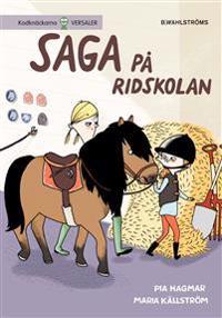 E-bok Saga på ridskolan av Pia Hagmar