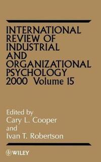 International Review of Industrial and Organizational Psychology 2000