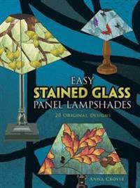 Easy Stained Glass Panel Lampshades