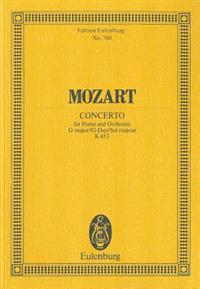 Mozart, Concerto for Piano and Orchestra G Major/G-Dur/Sol Majeur