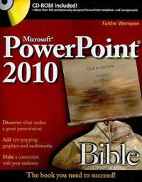 Microsoft PowerPoint 2010 Bible [With CDROM]