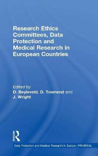 Research Ethics Committees, Data Protection And Medical Research in European Countries