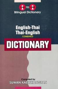 English-ThaiThai-English One-to-one Dictionary