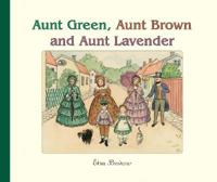 Aunt Green Brown and Lavender (H)