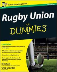 Rugby Union For Dummies, 3rd Edition