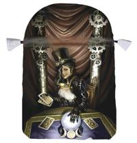 Steampunk High Priestess Satin Tarot Bag
