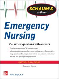 Schaum's Outline of Emergency Nursing