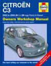 Citroen C3 Petrol & Diesel Service and Repair Manual