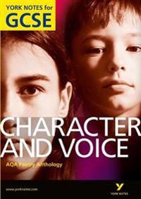 AQA Anthology: CharactersVoices - York Notes for GCSE