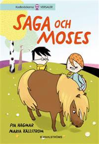 E-bok Saga och Moses  av Pia Hagmar