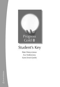 Progress Gold B - Student's Key