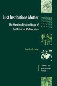 Just Institutions Matter