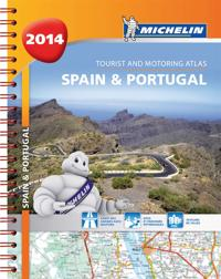 Spanien Portugal 2014 Atlas Michelin A4