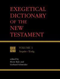 Exegetical Dictionary of the New Testament