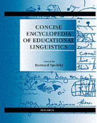 Concise Encyclopaedia of Educational Linguistics