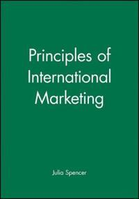 Principles of International Marketing
