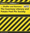 On Shaffer and Barrows' the Guernsey Literary and Potato Peel Pie Society [With MP3]