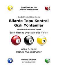 Cue Ball Control Cheat Sheets (Turkish): Easy Ways to Perfect Position