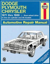 Dodge Plymouth Chrysler  (Rwd)