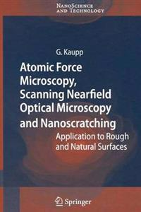 Atomic Force Microscopy, Scanning Nearfield Optical Microscopy and Nanoscratching