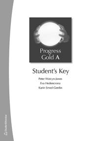 Progress Gold A - Student's Key