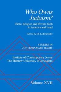 Who Owns Judaism?