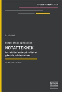 Notatteknik for studerende på videregående uddannelser