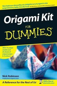 Origami Kit for Dummies [With 25 Sheets of Origami Paper in 5 Colours]