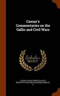 Bilde av Caesar's Commentaries On The Gallic And Civil Wars