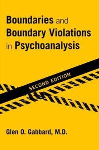 Bilde av Boundaries And Boundary Violations In Psychoanalysis