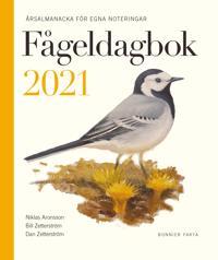 Fågeldagbok 2021 : årsalmanacka för egna noteringar