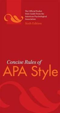 Bilde av Concise Rules Of Apa Style