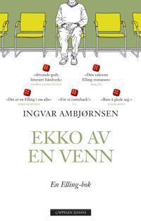 Bilde av bokomslaget til 'Ekko av en venn'