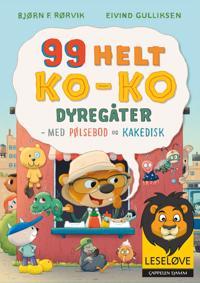 Bilde av 99 Helt Ko-ko Dyregåter