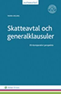 Skatteavtal och generalklausuler : ett komparativt perspektiv