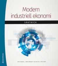 Modern industriell ekonomi – – särtryck