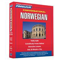 Pimsleur Norwegian Conversational Course – Level 1 Lessons 1-16 CD: Learn to Speak and Understand Norwegian with Pimsleur Language Programs