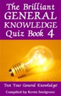 Bilde av Brilliant General Knowledge Quiz Book 4