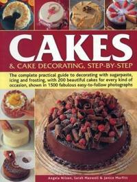 Bilde av Cakes & Cake Decorating, Step-by-step