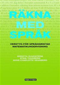 Räkna med språk inkl dvd med kopieringsunderlag – Verktyg för språkintriktad matematikundervisning
