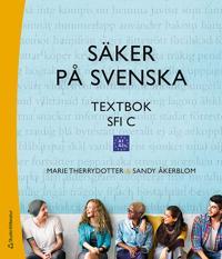 Säker på svenska textbok Elevpaket – Digitalt +Tryckt – Sfi C