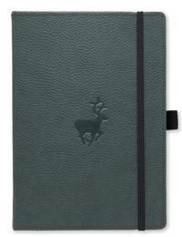 Dingbats* Wildlife A5+ Green Deer Notebook – Dotted