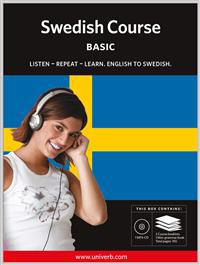 Swedish course, Basic MP3CD