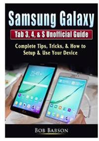 Bilde av Samsung Galaxy Tab 3, 4, & S Unofficial Guide