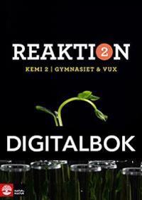 Reaktion Kemi 2 Lärobok Digital