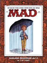 MAD – samlade årgångar. Del 3 Nr 1-6 1962