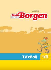Matte Direkt Borgen Läxbok 4B Ny upplaga