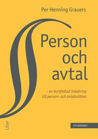 Person och avtal : – en kortfattad inledning till person- och avtalsrätten