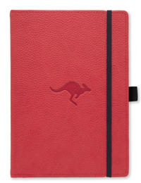 Dingbats* Wildlife A5+ Red Kangaroo Notebook – Dotted